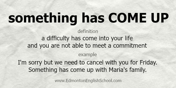 COME UP - Edmonton English School