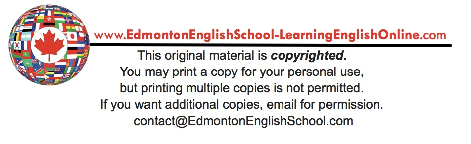 copyright info EDMONTON ENGLISH SCHOOL