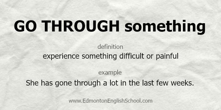 GO THROUGH - Edmonton English School